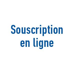 Souscription en ligne